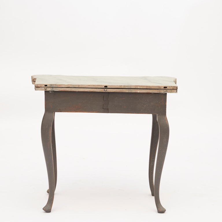 Danish 18th Century Rococo Console and Gaming Table For Sale 3