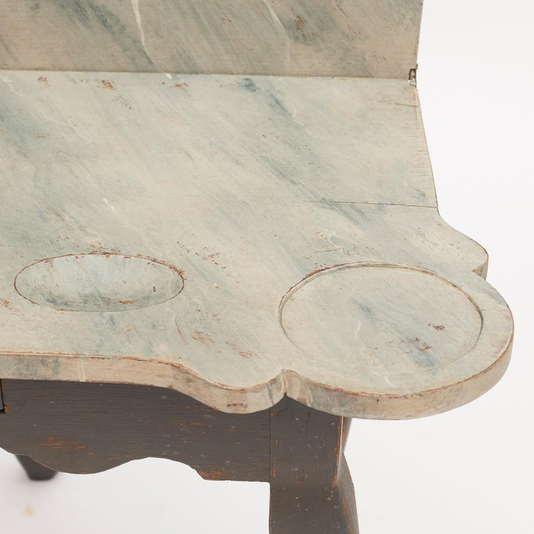 Danish 18th Century Rococo Console and Gaming Table For Sale 5