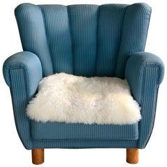 Danish 1940s Boesen and Lassen Style Lounge Chair