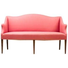 Danish 1950s Architectural Sofa