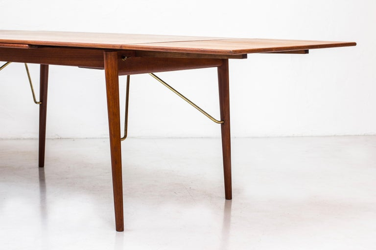 Danish, 1950s Extendable Table by Peter Hvidt & Orla Mølgaard 3