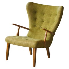 Danish 1950s Lounge Chair Model Pragh by Madsen and Schubell