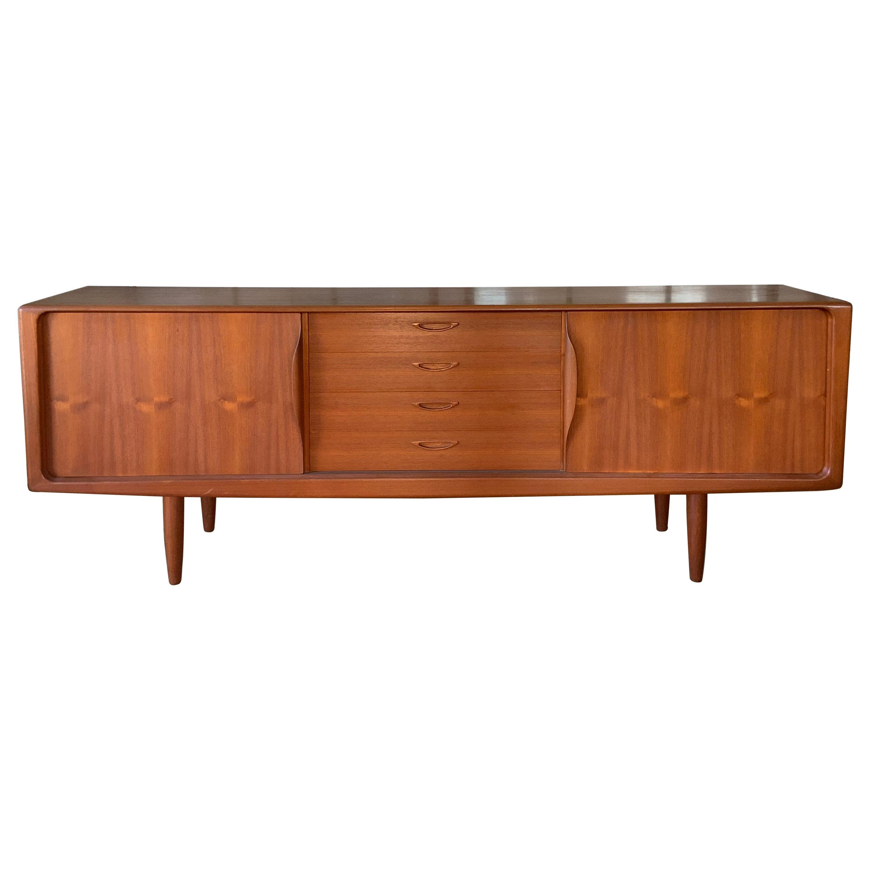 Danish 1950s Teak Credenza Cabinet