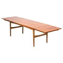 Danish 1950s Teak Dining Table by Knud Andersen