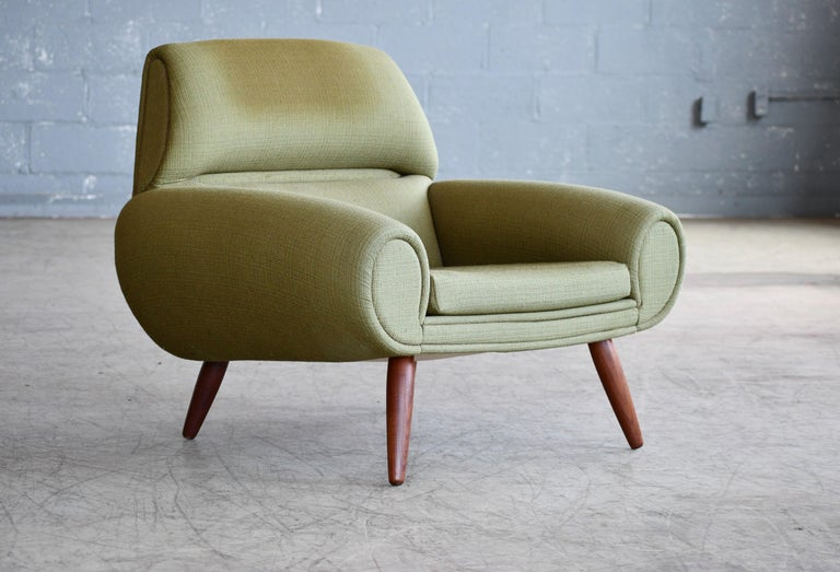 Danish 1960s Atomic Age Lounge Chairs by Kurt Ostervig Midcentury  In Good Condition For Sale In Bridgeport, CT