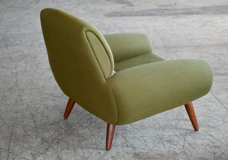 Danish 1960s Atomic Age Lounge Chairs by Kurt Ostervig Midcentury  For Sale 1