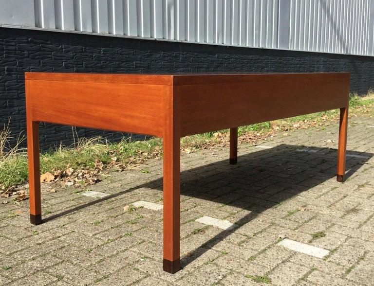 Beautiful Danish Desk by Aksel Bender Madsen & Ejner Larsen, Denmark 1960's  For Sale 6