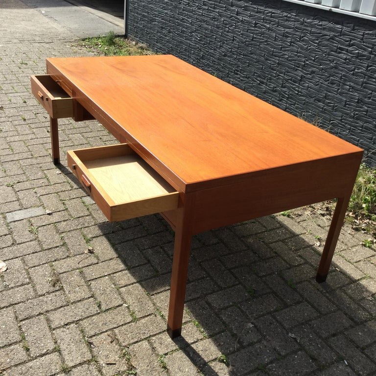 Mid-20th Century Beautiful Danish Desk by Aksel Bender Madsen & Ejner Larsen, Denmark 1960's  For Sale