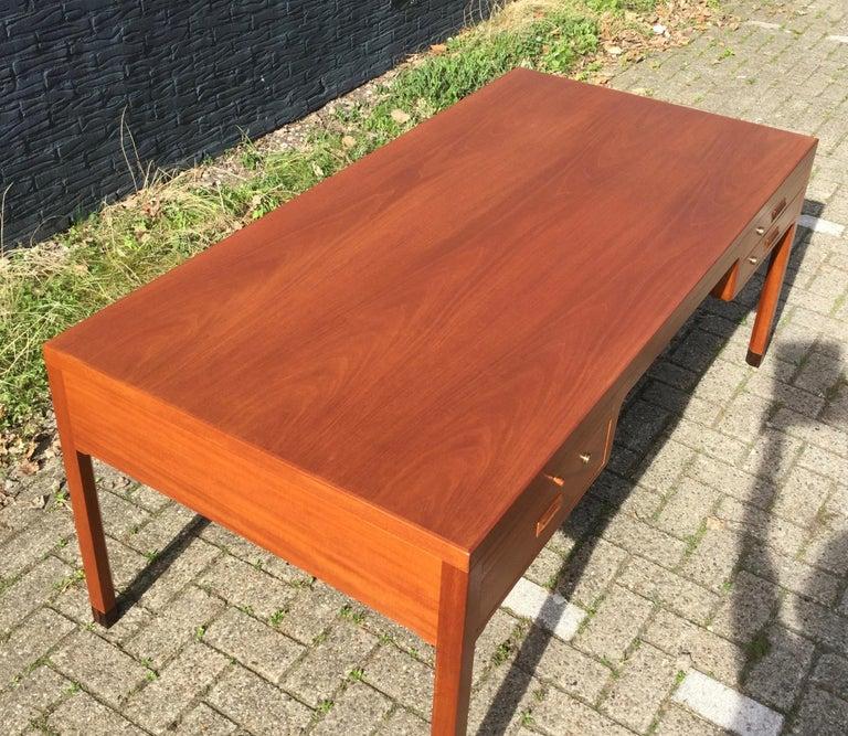 Beautiful Danish Desk by Aksel Bender Madsen & Ejner Larsen, Denmark 1960's  For Sale 1