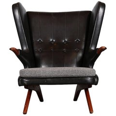 Danish 1960's Svend Skipper 'Papa Bear Chair