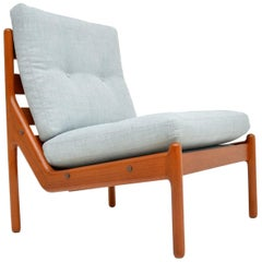 Danish 1960s Teak Lounge Chair by Illum Wikkelso