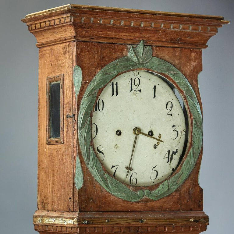 Danish 19th Century Clock For Sale 1