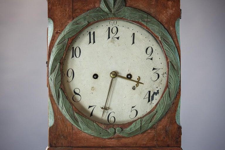 Danish 19th Century Clock For Sale 4
