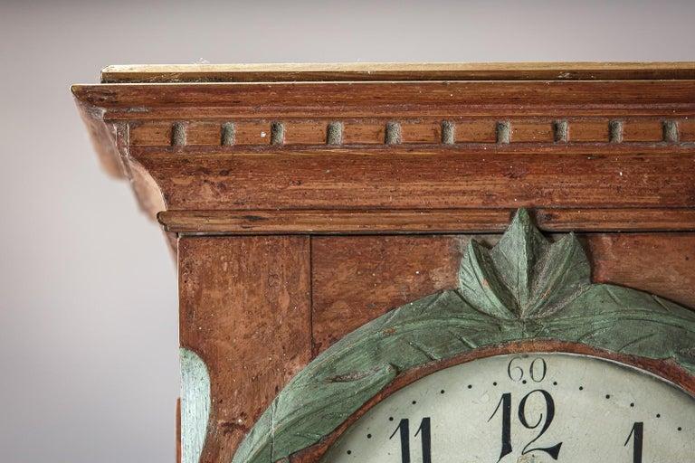 Danish 19th Century Clock For Sale 5