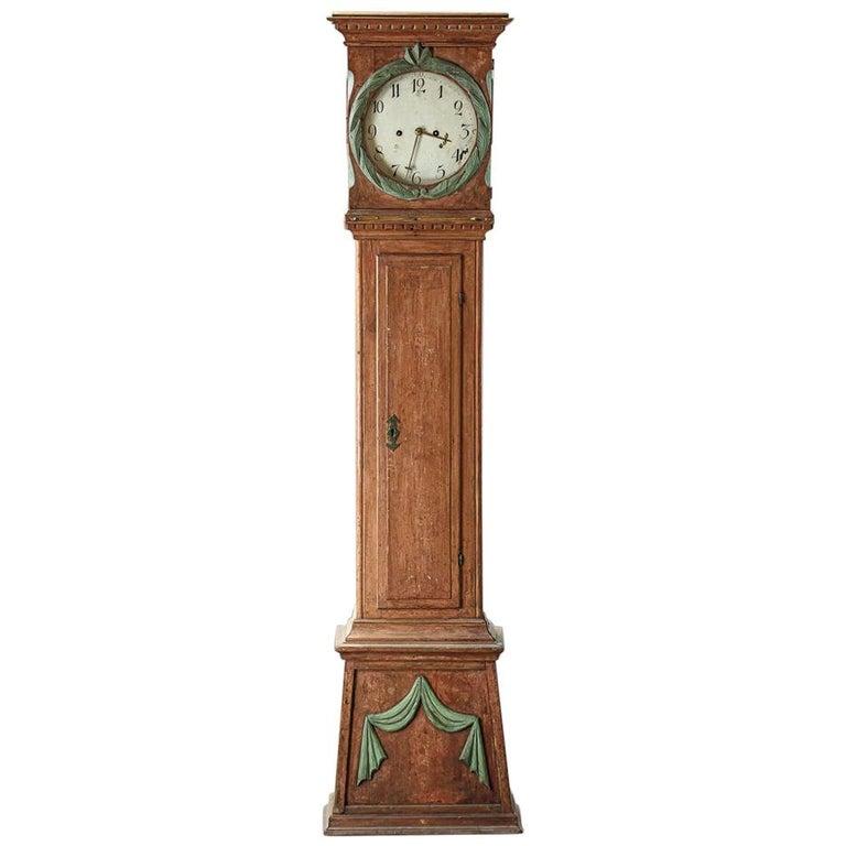 Danish 19th Century Clock For Sale