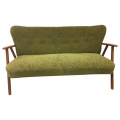 Danish 2 1/2 Pers, Sofa with 2 Armchairs