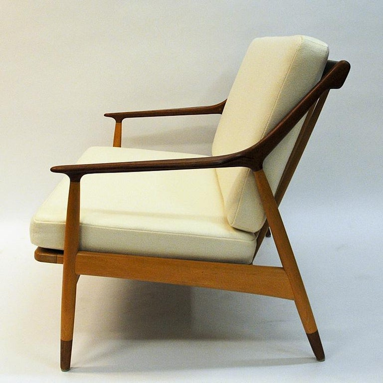 Danish 2-Seated Loveseat Sofa by Kurt Østervig for Jason Møbler, 1950s For Sale 5