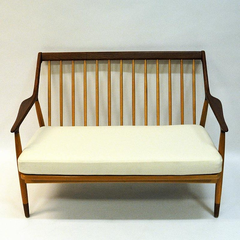 Danish 2-Seated Loveseat Sofa by Kurt Østervig for Jason Møbler, 1950s For Sale 6