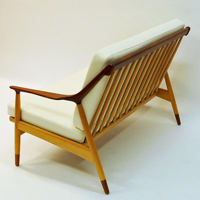Danish 2-Seated Loveseat Sofa by Kurt Østervig for Jason Møbler, 1950s For Sale 1