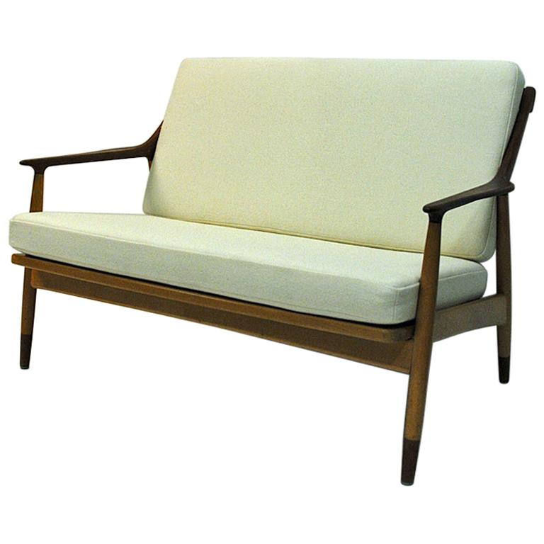 Danish 2-Seated Loveseat Sofa by Kurt Østervig for Jason Møbler, 1950s For Sale