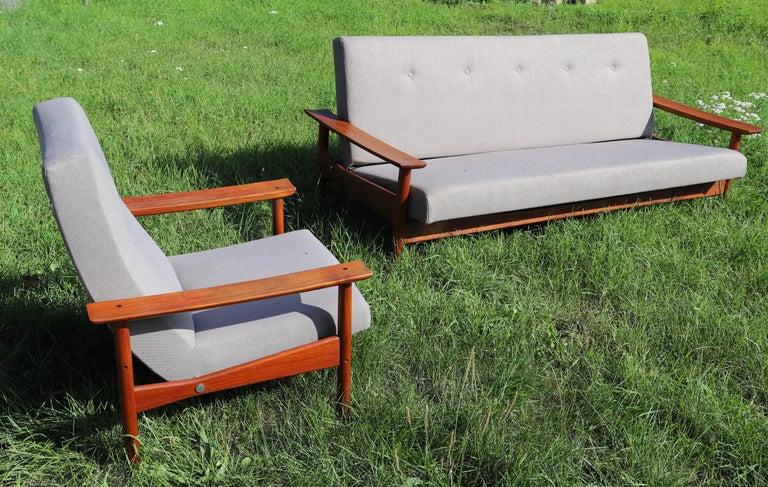 20th Century Danish 3-Piece Living Room Set