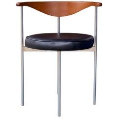 Danish Accent Chair Nº3200 Frederik Sieck Fritz Hansen Teak Midcentury Wegner