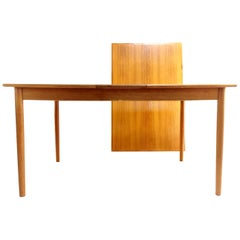 Danish AR Teak Extending Dining Table Midcentury Vintage