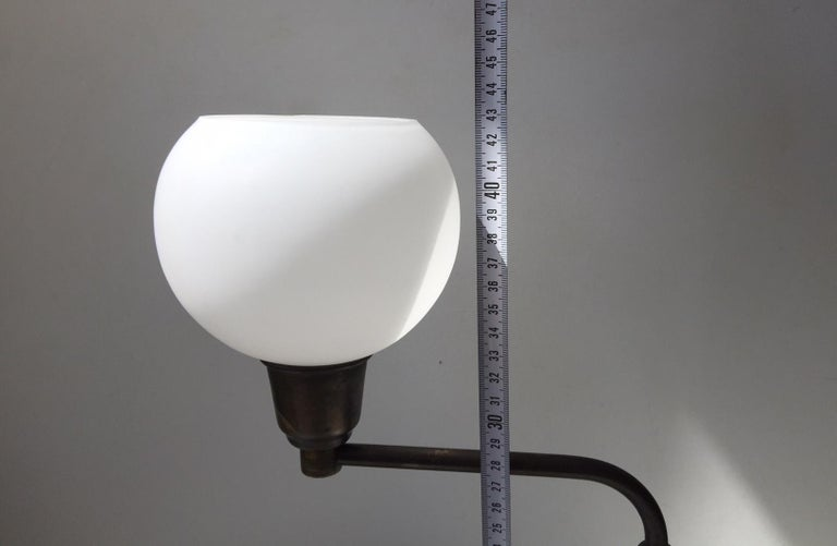 Danish Architect Table Lamp in Brass by Fog & Mørup, 1930s For Sale 2
