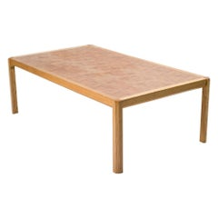 Danish Architectural Coffee Table by Grom Lindum