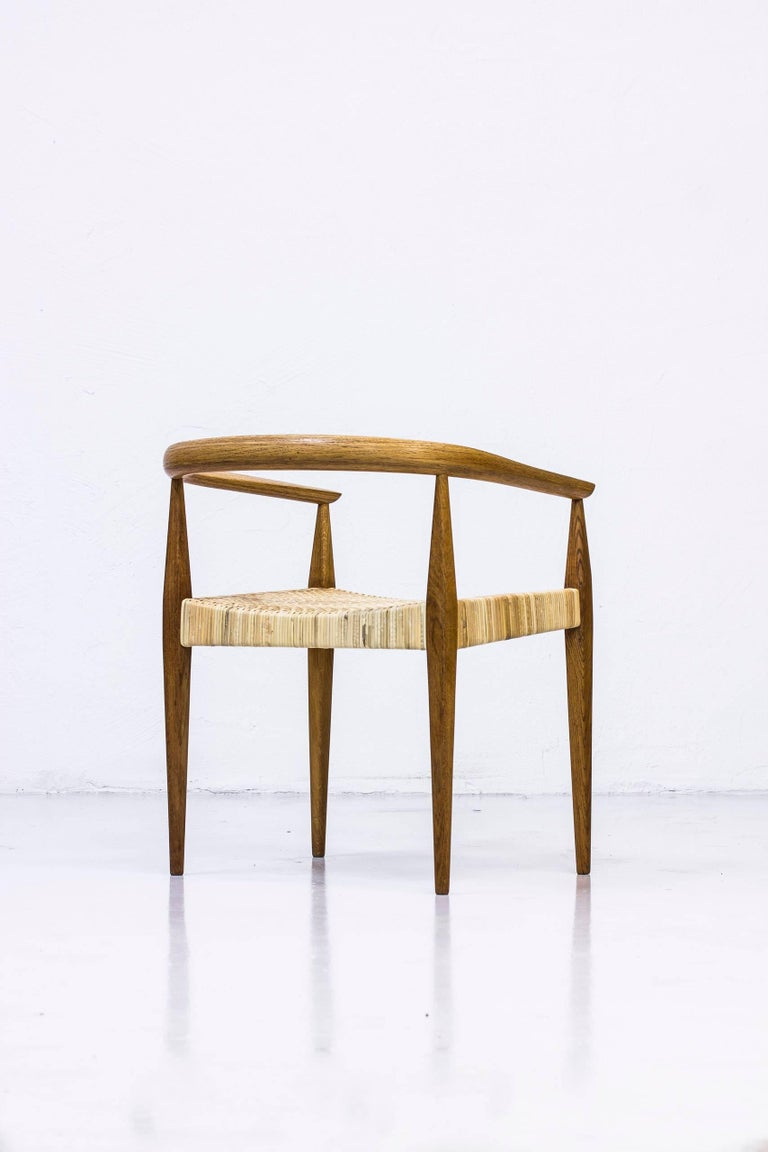 Danish Armchair No 113 by Nanna Ditzel, 1950s For Sale 4
