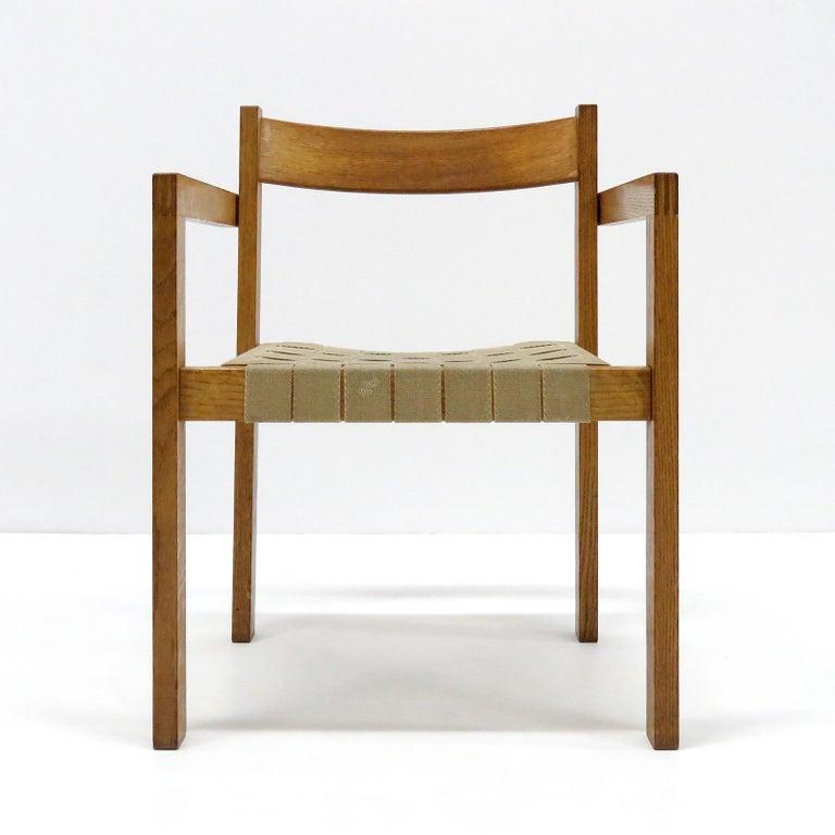 Scandinavian Modern Hans Wegner Armchairs, 1960 For Sale