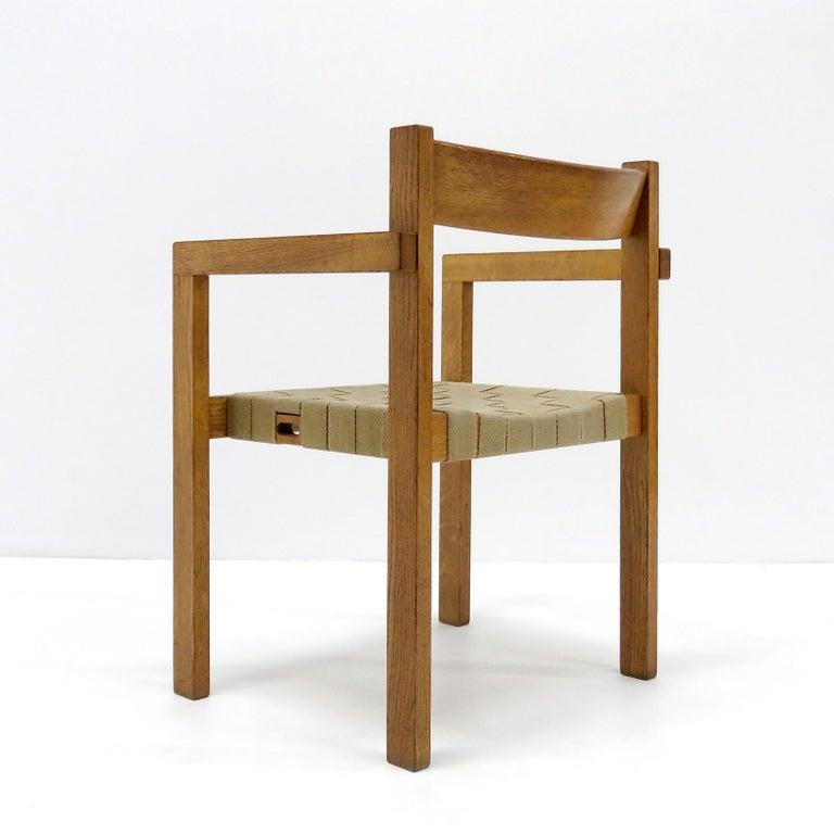 Mid-20th Century Hans Wegner Armchairs, 1960 For Sale