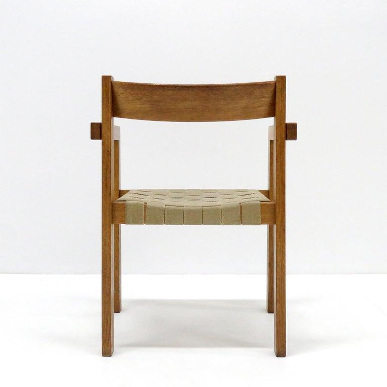 Oak Hans Wegner Armchairs, 1960 For Sale