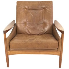 Danish Armchair by Erik Worts, circa 1960
