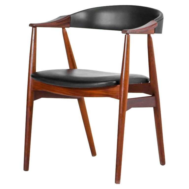 Danish Armchair in Teak, Scandinavian Design, 1960s For ...