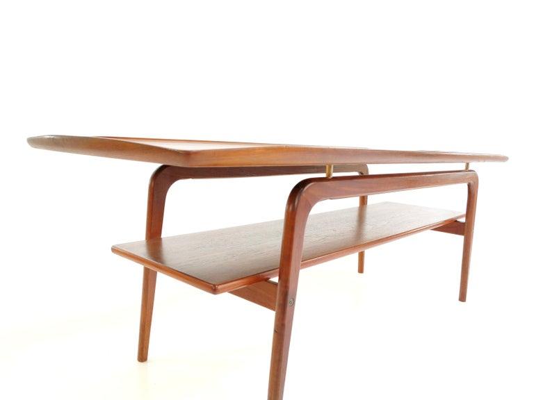 Danish Arne Hovmand Olsen Teak Midcentury Coffee Table 6