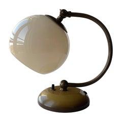 Danish Art Deco Bedside Table Lamp Fog & Mørup