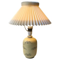 Danish Art Deco Ceramic Table Lamp from Knabstrup, 1930s