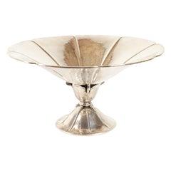 Danish Art Nouveau Silver Centerpiece, 1920s