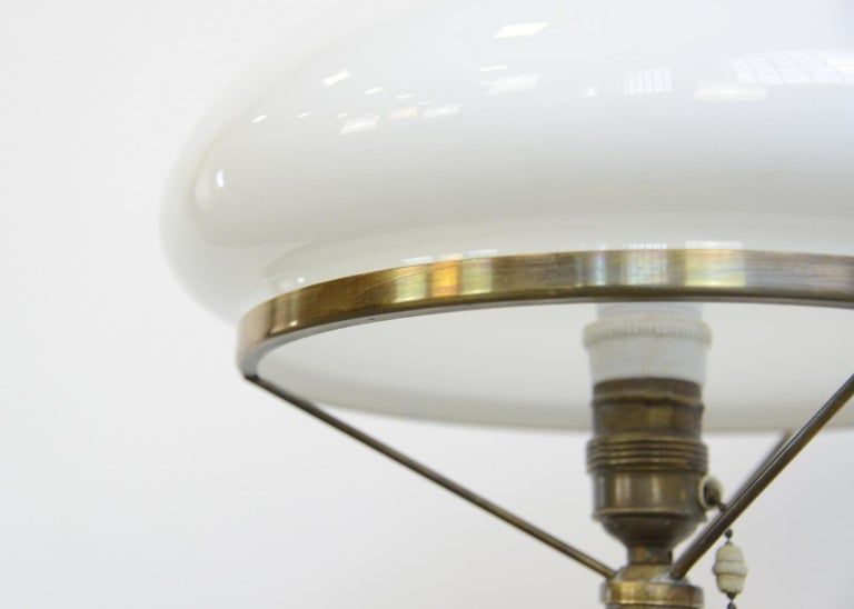 Danish Art Nouveau Table Lamp, circa 1910 For Sale 1