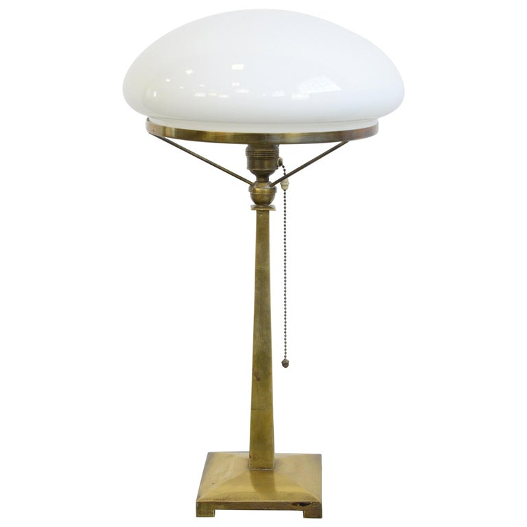 Danish Art Nouveau Table Lamp, circa 1910 For Sale