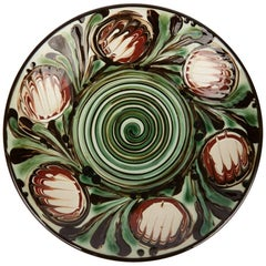 Danish Art Pottery Bowl by Herman August Kahler, 20th Century