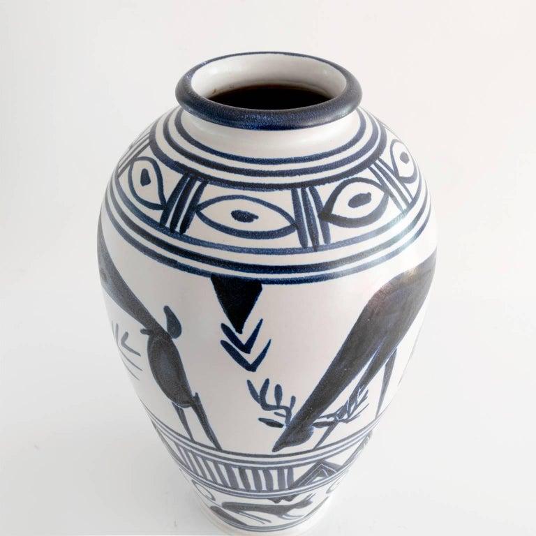 Scandinavian Danish Artist Mette Doller Vase for the Swedish Company Andersson & Johansson For Sale
