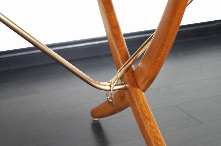 Mid-20th Century Danish AT-304 Dining Table by Hans J. Wegner for Andrea Tuck For Sale