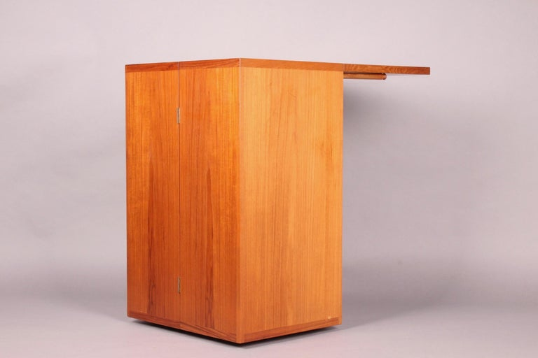 Mid-20th Century Danish Bar Cabinet by Reno Wahl Iversen for Dyrlund For Sale