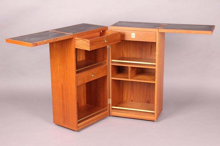 Danish Bar Cabinet by Reno Wahl Iversen for Dyrlund For Sale 2