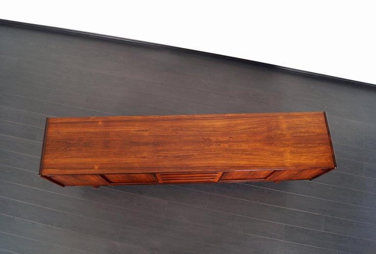 Danish Brazilian Rosewood Credenza by Johannes Andersen 6