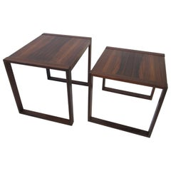 Danish Brazilian Rosewood Side Tables