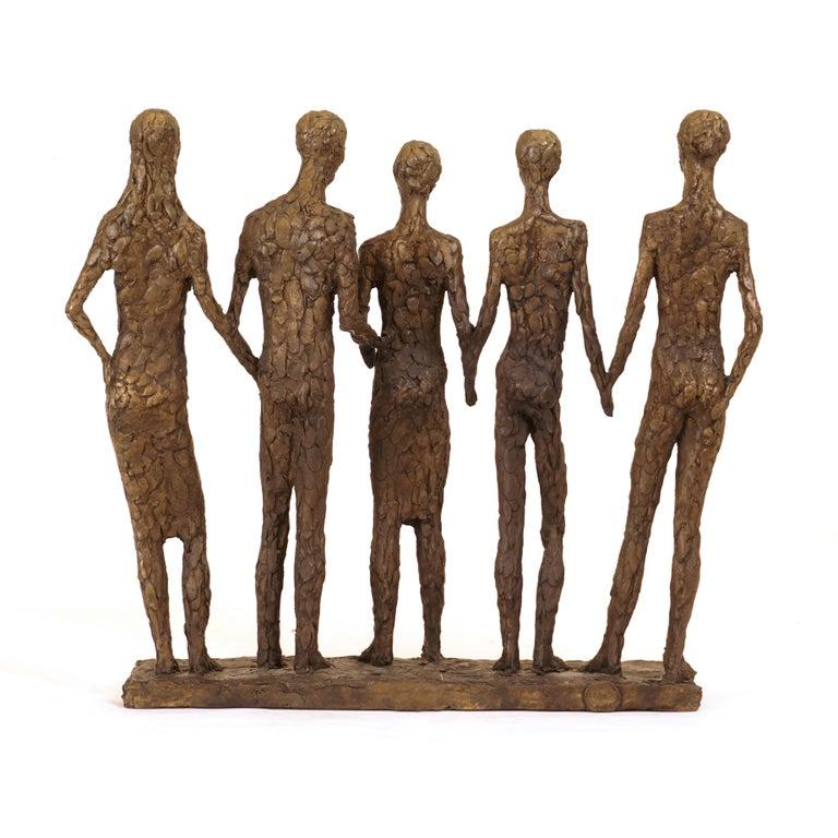 Modern Danish Bronze Sculpture