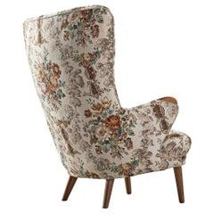 Danish Cabinetmaker Highback Chair